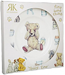 Roy Kirkham Teddy Time Blue Plate 20 cm