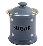 Fairmont & Main Kitchen Spot Blue Store Jar - Sugar
