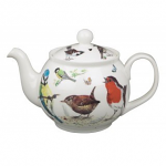 Roy Kirkham Classic 6 Cup Tea Pot - Garden Birds