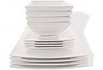 Maxwell & Williams - White Basics East Meets West Dinner Set 12 Piece