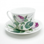 Roy Kirkham Redoute Rose Chatsworth Tea Cup & Saucer