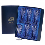 Royal Scot - London - Presentation Box 6 Port or Sherry Glasses