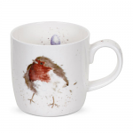 Royal Worcester Wrendale Designs - Mug - Robin - Garden Friend