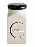 Fairmont & Main - Script Coffee Store Jar with Black Lid