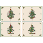 Spode Christmas Tree - Placemats Large Set of 4