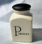Fairmont & Main Script Small Spice Jar - Parsley