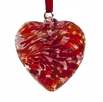 Amelia Friendship Birthstone Heart - Medium - Garnet - January