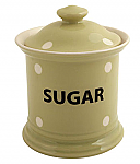 Fairmont & Main Kitchen Spot Green Store Jar - Sugar