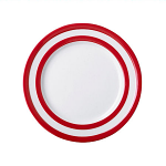 Cornishware - Cornish Red - Breakfast Plate 228mm
