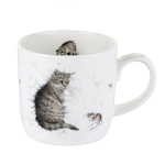 Royal Worcester Wrendale Designs - Mug - Cat and Mouse