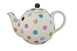 London Pottery Globe Teapot 4 Cup Multicoloured Spots