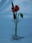 Suffolk Glass Poppy - Mini Coloured