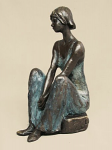 Frith Sculpture - Serenity - Woman in Peaceful Thought