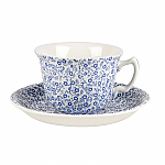 Burleigh Pale Blue Felicity Tea Cup Only