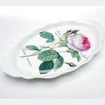 Roy Kirkham Redoute Rose Small Oval Sweet Tray