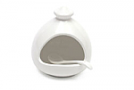 Maxwell & Williams - White Basics Salt Pig & Spoon