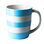 Cornishware - Cornish Colours - Turkish Blue Mug 12oz / 34cl