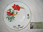 Duchess China Poppies - Salad Plate 21cm