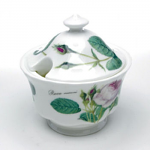 Roy Kirkham Redoute Rose Covered Sugar Bowl