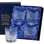 Royal Scot - London - Presentation Box 4 Whisky Tumblers