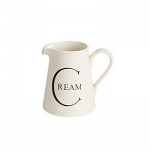 Fairmont & Main - Script Small Jug - Cream