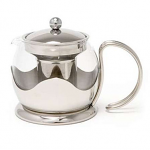 La Cafetiere Le Teapot 2 Cup Stainless Steel