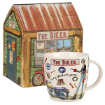 At Your Leisure - The Biker Mug in Giftbox