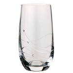 Dartington Glitz Highball Glasses Pair