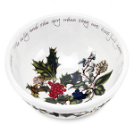 Portmeirion Holly & Ivy Fruit or Salad Bowl 14cm 5.5in