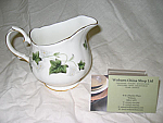 Duchess China Ivy - Cream Jug (Coffee) Small Size