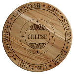 Gourmet Cheese - Wooden Cheese Board from Creative Tops