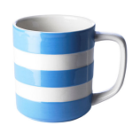 Cornishware - Cornish Blue - Mug 10oz / 28cl Straight Sided