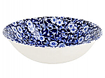 Burleigh Blue Calico Cereal Bowl