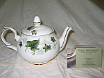 Duchess China Ivy - Teapot Large 6 cup