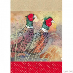 Alex Clark Pleasant Pheasants Tea Towel