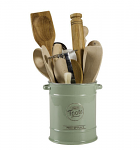 T&G Pride of Place Large Utensils Jar in Old Green
