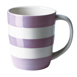 Cornishware - Cornish Colours - Violet Mug 12oz / 34cl