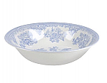 Burleigh Blue Asiatic Pheasants Pudding Soup Bowl
