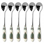 Spode Christmas Tree - Tea Spoons Set of 6 15cm 6in