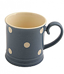 Fairmont & Main Kitchen Spot Blue Tankard Mug - 300cc