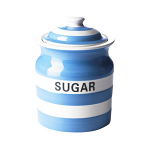 Cornishware - Cornish Blue - Sugar Storage Jar 84cl