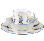 Beatrix Potter Peter Rabbit 3 Piece Breakfast Set Boxed