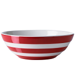 Cornishware - Cornish Red - Cereal Bowl 170mm