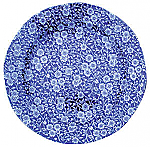 Burleigh Blue Calico Plate 26.5cm 10.5inch