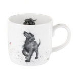 Royal Worcester Wrendale Designs - Mug - Dog - Walkies