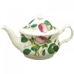 Roy Kirkham Redoute Rose Tea Pot Small Oval