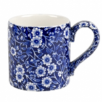 Burleigh Blue Calico Mug 375ml 0.66 Pint
