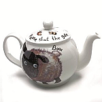Roy Kirkham Classic 6 Cup Tea Pot - Please Shut Gate Sheep