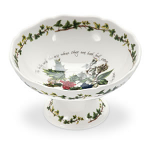 Portmeirion Holly & Ivy Scalloped Dish 14cm
