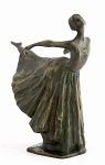 Frith Sculpture - Arabesque - Ballerina